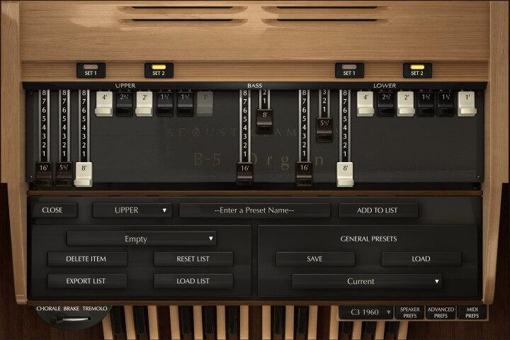 B-5 Organ V2