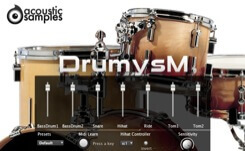 DrumysM interface